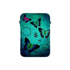 Texture Butterflies Background Apple Ipad Mini Protective Soft Cases