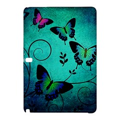 Texture Butterflies Background Samsung Galaxy Tab Pro 12 2 Hardshell Case