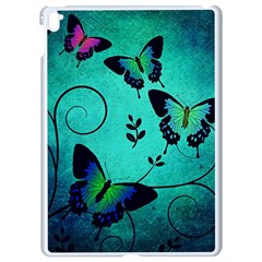 Texture Butterflies Background Apple Ipad Pro 9 7   White Seamless Case