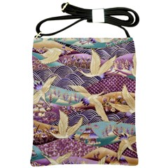 Textile Fabric Cloth Pattern Shoulder Sling Bags