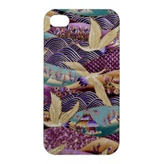 Textile Fabric Cloth Pattern Apple Iphone 4/4s Hardshell Case