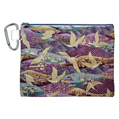 Textile Fabric Cloth Pattern Canvas Cosmetic Bag (xxl)