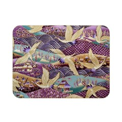 Textile Fabric Cloth Pattern Double Sided Flano Blanket (mini)