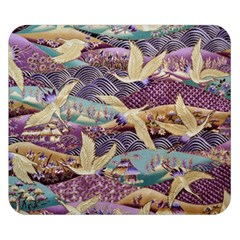 Textile Fabric Cloth Pattern Double Sided Flano Blanket (small)