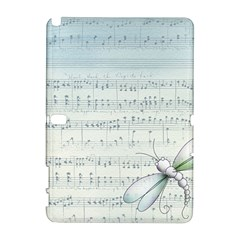 Vintage Blue Music Notes Galaxy Note 1