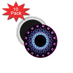 Kaleidoscope Shape Abstract Design 1 75  Magnets (10 Pack)