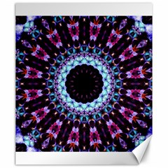 Kaleidoscope Shape Abstract Design Canvas 20  X 24
