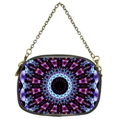 Kaleidoscope Shape Abstract Design Chain Purses (two Sides)