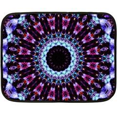 Kaleidoscope Shape Abstract Design Double Sided Fleece Blanket (mini)