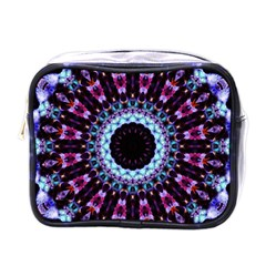 Kaleidoscope Shape Abstract Design Mini Toiletries Bags