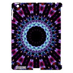 Kaleidoscope Shape Abstract Design Apple Ipad 3/4 Hardshell Case (compatible With Smart Cover)