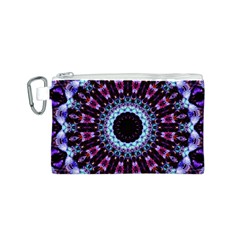 Kaleidoscope Shape Abstract Design Canvas Cosmetic Bag (s)
