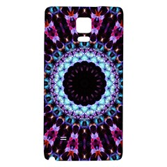 Kaleidoscope Shape Abstract Design Galaxy Note 4 Back Case