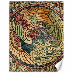 Wings Feathers Cubism Mosaic Canvas 18  X 24