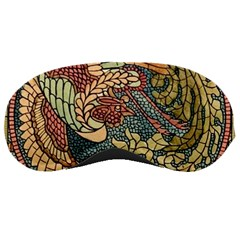 Wings Feathers Cubism Mosaic Sleeping Masks