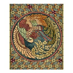 Wings Feathers Cubism Mosaic Shower Curtain 60  X 72  (medium)