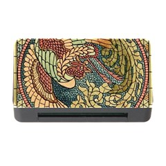 Wings Feathers Cubism Mosaic Memory Card Reader With Cf