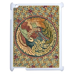 Wings Feathers Cubism Mosaic Apple Ipad 2 Case (white)