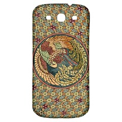 Wings Feathers Cubism Mosaic Samsung Galaxy S3 S Iii Classic Hardshell Back Case