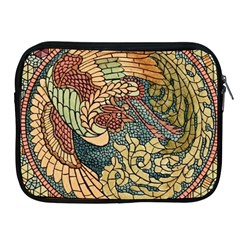 Wings Feathers Cubism Mosaic Apple Ipad 2/3/4 Zipper Cases