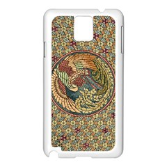 Wings Feathers Cubism Mosaic Samsung Galaxy Note 3 N9005 Case (white)
