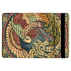 Wings Feathers Cubism Mosaic Ipad Air Flip