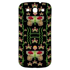 Roses In The Soft Hands Makes A Smile Pop Art Samsung Galaxy S3 S Iii Classic Hardshell Back Case