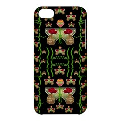 Roses In The Soft Hands Makes A Smile Pop Art Apple Iphone 5c Hardshell Case