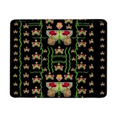 Roses In The Soft Hands Makes A Smile Pop Art Samsung Galaxy Tab Pro 8 4  Flip Case