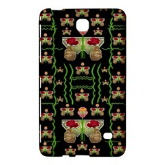 Roses In The Soft Hands Makes A Smile Pop Art Samsung Galaxy Tab 4 (8 ) Hardshell Case