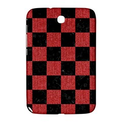 Square1 Black Marble & Red Denim Samsung Galaxy Note 8 0 N5100 Hardshell Case