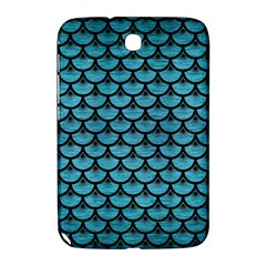 Scales3 Black Marble & Teal Brushed Metal Samsung Galaxy Note 8 0 N5100 Hardshell Case