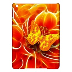 Arrangement Butterfly Aesthetics Orange Background Ipad Air Hardshell Cases