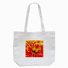 Arrangement Butterfly Aesthetics Orange Background Tote Bag (white)