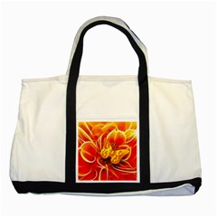 Arrangement Butterfly Aesthetics Orange Background Two Tone Tote Bag