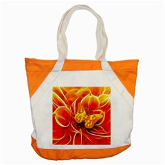 Arrangement Butterfly Aesthetics Orange Background Accent Tote Bag