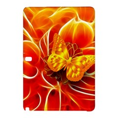 Arrangement Butterfly Aesthetics Orange Background Samsung Galaxy Tab Pro 12 2 Hardshell Case