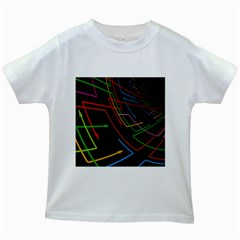 Arrows Direction Opposed To Next Kids White T Shirts