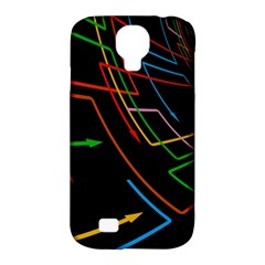 Arrows Direction Opposed To Next Samsung Galaxy S4 Classic Hardshell Case (pc+silicone)