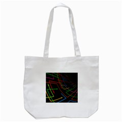 Arrows Direction Opposed To Next Tote Bag (white)