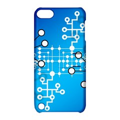 Block Chain Data Records Concept Apple Ipod Touch 5 Hardshell Case With Stand