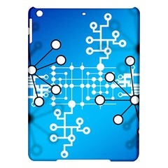 Block Chain Data Records Concept Ipad Air Hardshell Cases