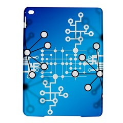 Block Chain Data Records Concept Ipad Air 2 Hardshell Cases