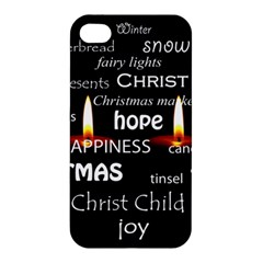 Candles Christmas Advent Light Apple Iphone 4/4s Premium Hardshell Case