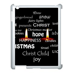 Candles Christmas Advent Light Apple Ipad 3/4 Case (white)