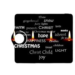 Candles Christmas Advent Light Kindle Fire Hdx 8 9  Flip 360 Case