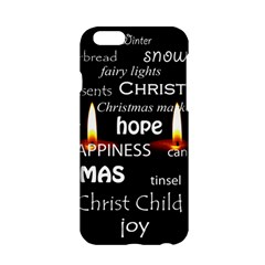 Candles Christmas Advent Light Apple Iphone 6/6s Hardshell Case