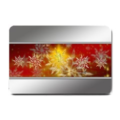 Christmas Candles Christmas Card Small Doormat