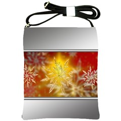 Christmas Candles Christmas Card Shoulder Sling Bags