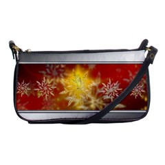 Christmas Candles Christmas Card Shoulder Clutch Bags